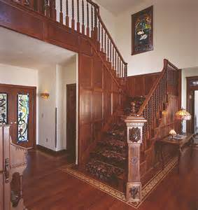 House Foyer Designs Victorian Staircase