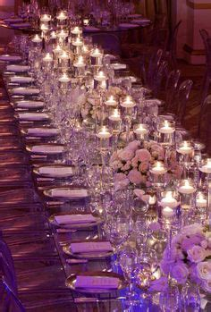design pattern khajavi wedding tables when paired with sultry blue lighting