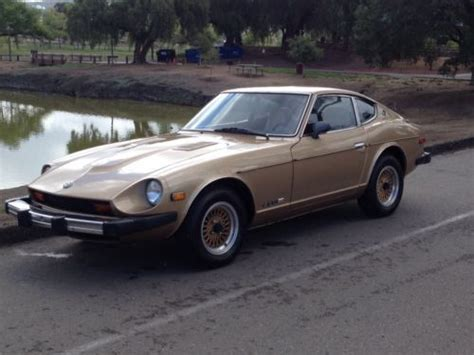 gold nissan car purchase used gold nissan 280z fuel injection