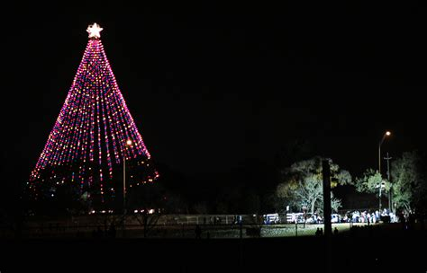 zilker park christmas tree christmas lights decoration