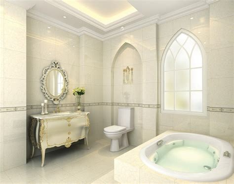 Spa Bathroom Decorating Ideas neoclassical bathroom walls and ceilings