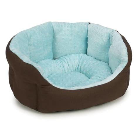 dog nesting bed slumber pet cotton nylon 18 inch dimple plush nesting dog