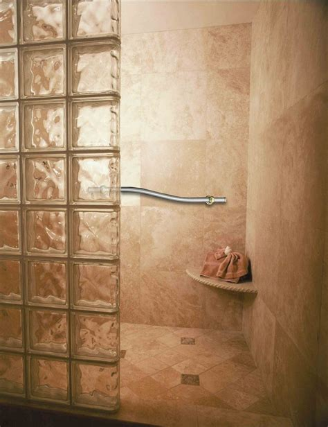 glass block bathroom ideas handicap showers innovate building solutions