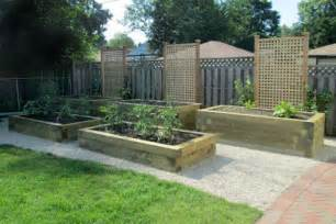 Using Landscape Timbers For Vegetable Garden Raised Vegetable Gardens Nature S Perspective Landscaping