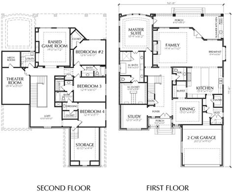 two story house blueprints unique two story house plan floor plans for large 2 story homes wood associates