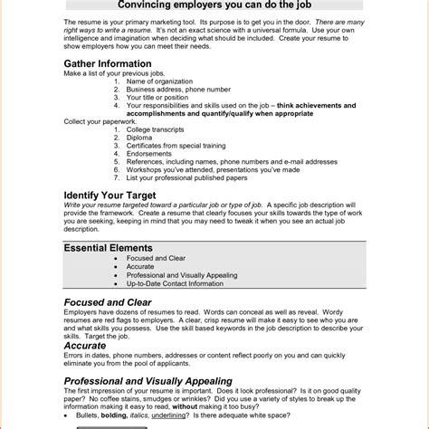 perfect job resume exle exles of good resumes that
