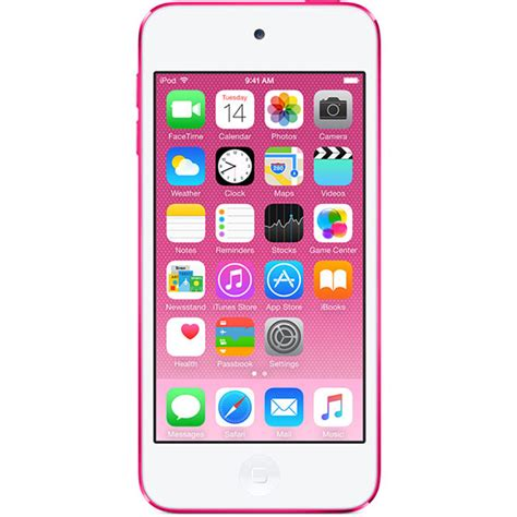 Ipod Touch 6 Pink 32 Gb آیپاد تاچ نسل ششم 32 گیگابایت صورتی ipod touch 6th