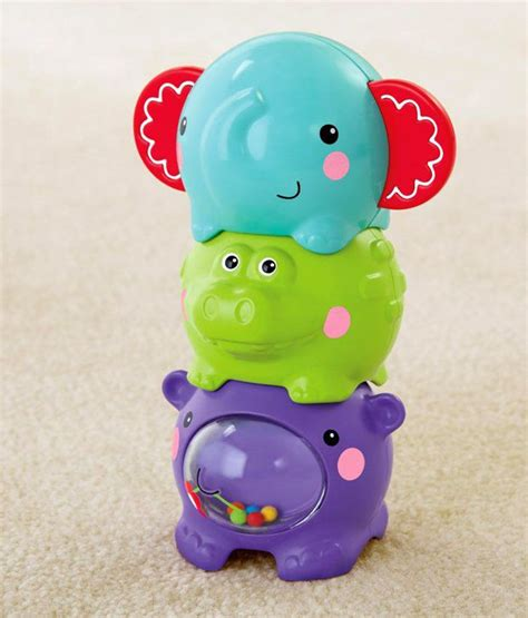 fisher price stacking sounds animals baby toys buy