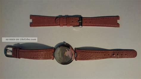 tissot rockwatch pinkblack uhr ersatzarmband leder