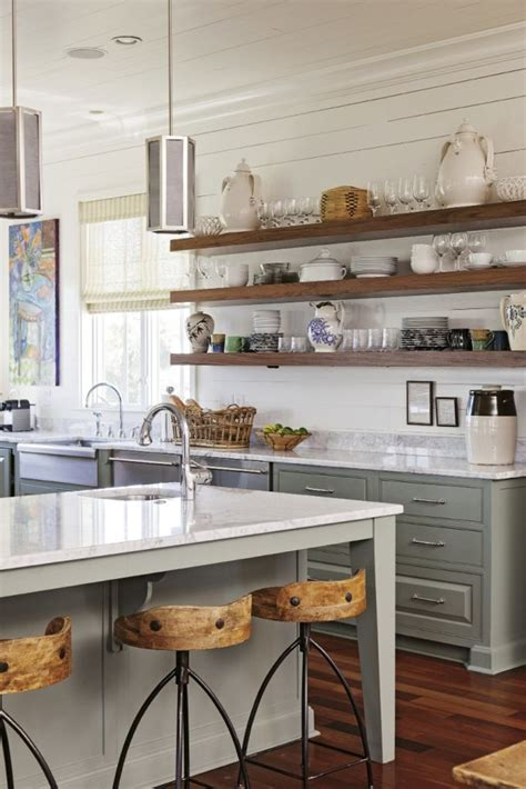 Jpm Design Open Shelving In The Kitchen 19 Gorgeous Kitchen Open Shelving That Will Inspire You Open Shelving Plank And Turquoise