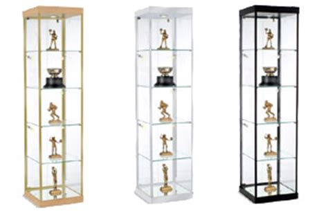 Tall Glass Door Cabinet Glass Showcases Countertop Floor Standing Amp Tower Style