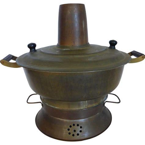 Asian Cooking Pots Antique Brass Pot Cooking Pot From Historique
