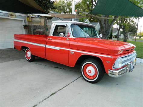 truck restored restored 1966 chevrolet c 10 standard vintage truck for sale