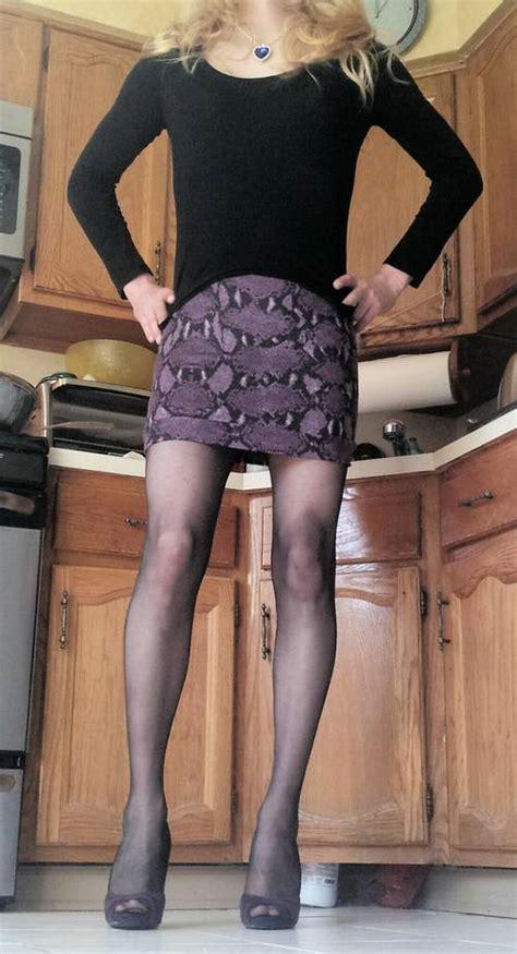 Crossdresser Wardrobe by Two Bodycon Mini Skirts For A Crossdresser Clothing
