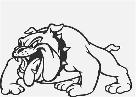 drawings of bulldogs mascots 8 cool wallpaper