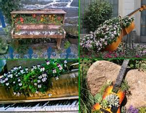 upcycled piano decor ideas recycled things