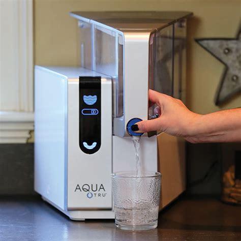 aquatru countertop reverse osmosis water purifier
