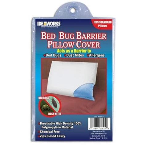 Bed Bug Insurance by Bed Bug Barrier Pillow Cover Colonialmedical