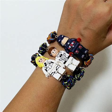 Lego Bracelet 17 best images about jewelry lego on steel