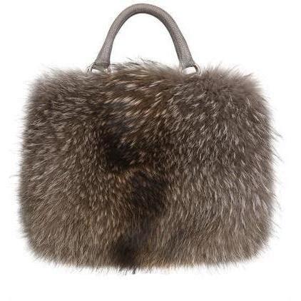 diverso italiano drummed nubuck leder fell handtasche