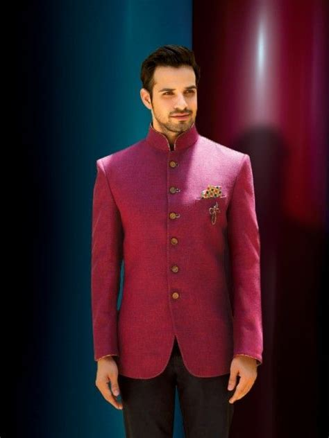 Lilac Rose Jodhpuri suit   Men's Designer Suits   Wedding