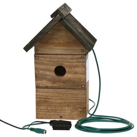 bird nesting boxes with camera bird cages