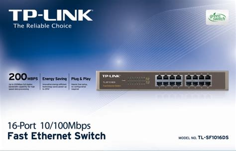 Tp Link Sf1016ds By Glorianetharco active electronics ethernet switches