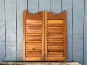 Wooden Shutter Doors Vintage Wooden Shutter Doors Antique Shutters Swinging Cafe