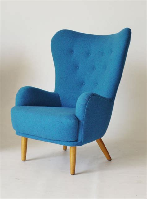 blue armchair light blue ernest race da1 armchair 1950s for sale at pamono