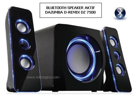 Speaker Aktif Ada Bluetooth dazumba dz 7500 bluetooth cv dieng cyber