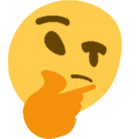 emoji thinking destroyedthink discord emoji