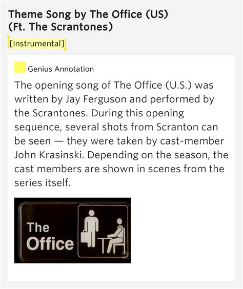 The Office Soundtrack by Instrumental Theme Song By The Office Us