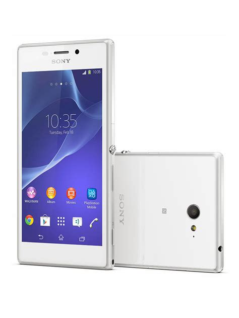 Xperia M2 Dual White buy sony xperia m2 dual white at best price in