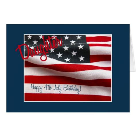 Happy Birthday 4th July Cards Happy 4th Birthday Gifts T Shirts Art Posters Other