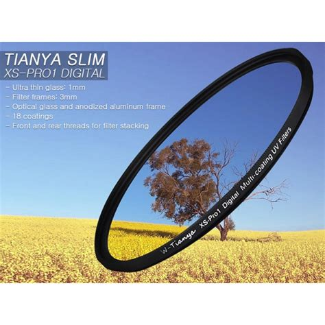 Filter Slim Pro Mc Uv 52mm tianya slim xs pro1 digital mc uv filter 52mm