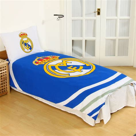 Real Madrid Bed Set Real Madrid Bedding Accessories Football Duvet Covers Towels Blanket More Ebay