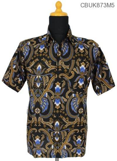 Baju Pisang kemeja batik motif bunga pisang kemeja pendek murah