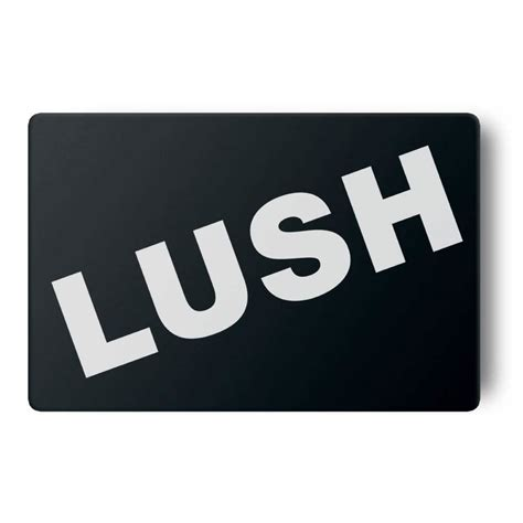 Lush Gift Card Balance - gift card black gift cards lush fresh handmade cosmetics uk