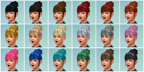 match hairstyles games maxis match cc for the sims 4 ts4 cc hairs pinterest