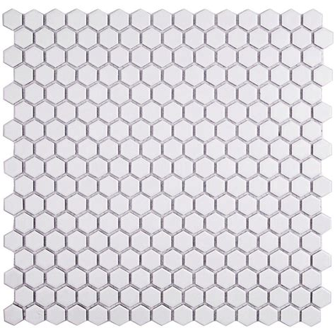 1 white matte hexagon floor tiles splashback tile bliss hexagon white matte ceramic mosaic
