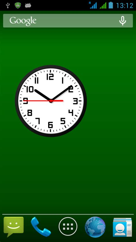 analog clock widgets for android analog clock widget plussize 7 android apps on play
