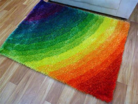 rainbow home decor fantastic rainbow rug ideas to make your home livelier