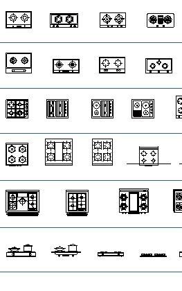 Elevation Symbol On Floor Plan by Kitchen Cad Blocks Thousand Dwg Files Sinks Kitchen