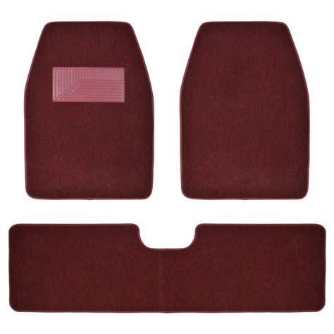 1 Floor Mats Trucks - burgundy carpet car floor mats for truck suv 3pc