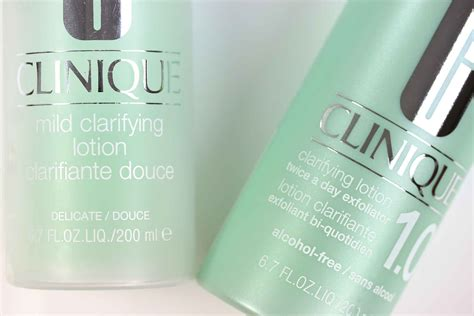 Clinique Mild Clarifying Lotion clinique clarifying lotion 1 0