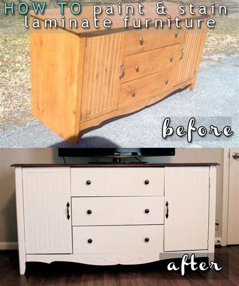 How To Sand And Stain A Dresser by From Free To Fabulous Painting And Staining Laminate