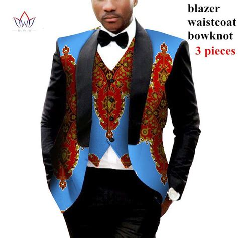 Set Slim Fit Blazer Vest mens clothing two pieces set mens jackets and