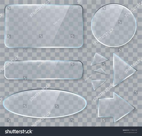 glass design elements 25 vector vector transparent glass design elements game stock vector