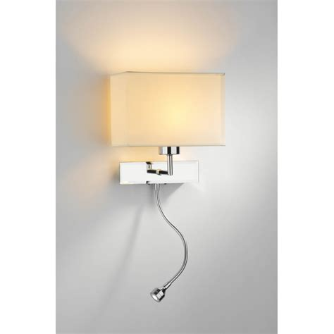 White Wall Sconce Ls Modern White Wall L Drum Sconce Fabric Shade Brushed Oregonuforeview