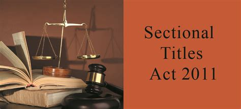 sectional title management rules sectional title schemes management act 2011 miltons